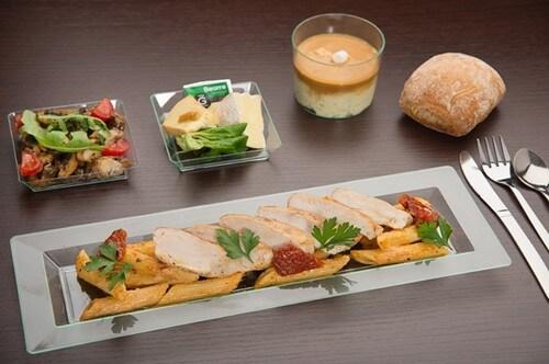 Et si on se commandait un plateau repas ?