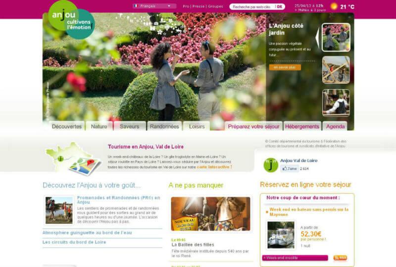 Partez à la découverte de l'Anjou-Val-de-Loire