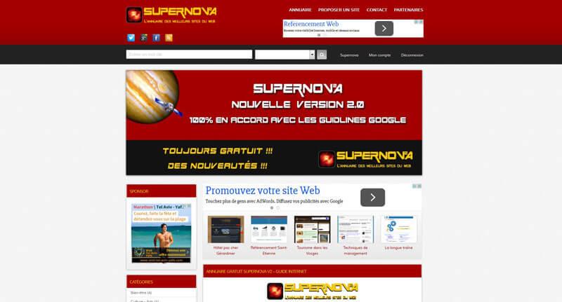 Après le .fr, voici supernova-annuaire.com