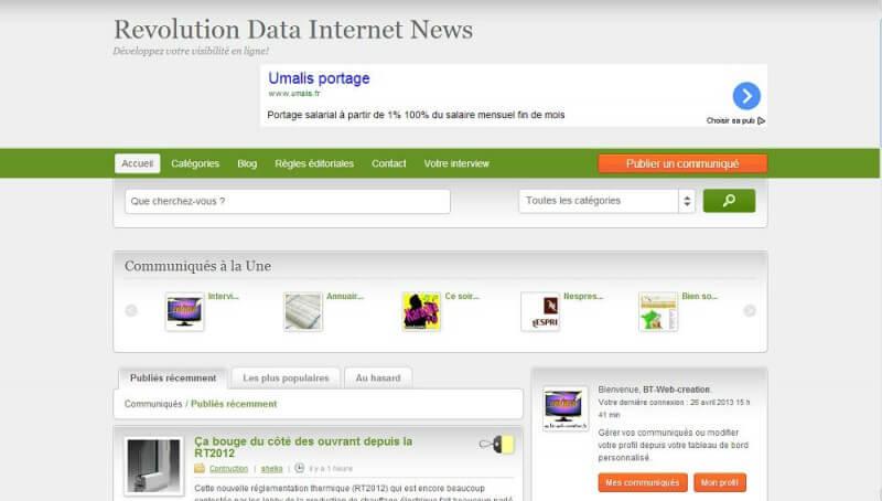 Mettre en forme un article sur RDINews avec le code html